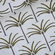 Afbeelding van Palms - French Terry - Gebroken Wit
