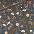 Picture of Flower Field - M - Sergé Gabardine de Coton - Blue Nuit