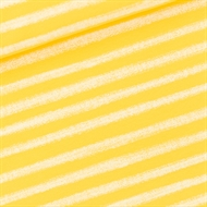 Image de Chalk Stripes - M - French Terry - Jaune Habanero