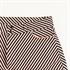 Picture of Diagonals - M - Katoen Canvas Gabardine Twill - Zwart & Wit & Koper