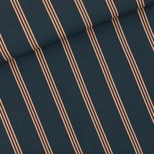 Bild von Three Lines Peach - M - Viscose Rayon - India Tinteblau