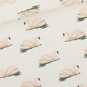 Picture of Swan - L - French Terry - Wolkwit